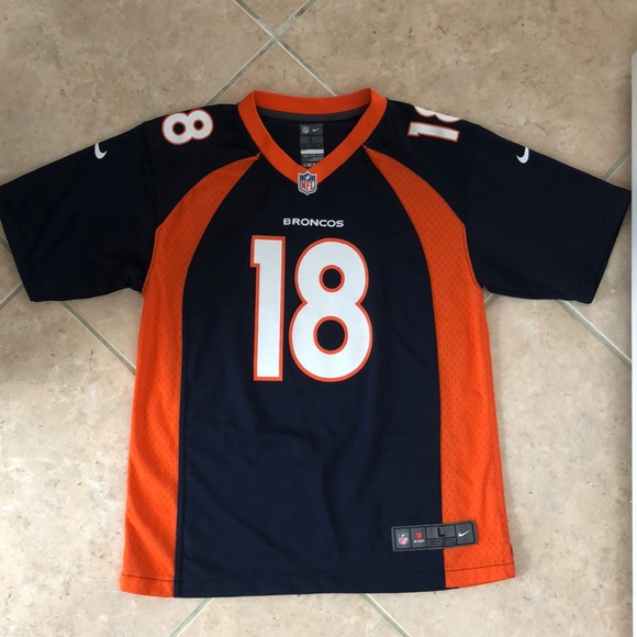 online store d5f1b 50845 Nike NFL Peyton Manning Broncos Jersey 14-16 NEW
